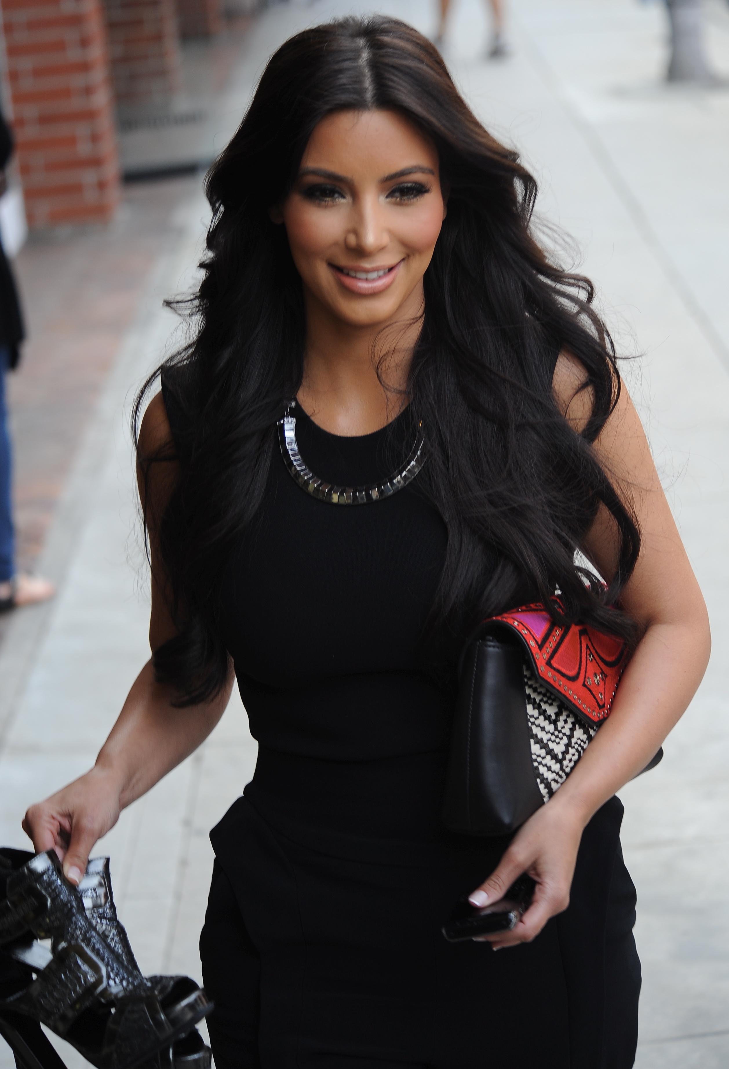 Kim Kardashian leaves a nail salon in Beverly Hills. May 16/2011 ...